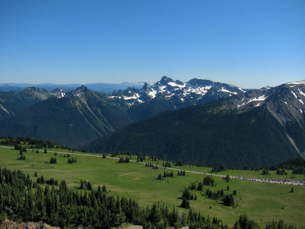 Фото бесплатно равнина, горы, вершины - на рабочий стол