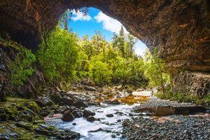 Бесплатные фото речка, арка, скалы, природа