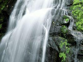 Фото бесплатно вода, водопад, зелень