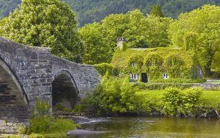 Бесплатные фото вода, река, озеро, берег, мост, дом, деревья