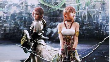 Фото бесплатно final fantasy xiii-2, последняя фантазия 13, final fantasy