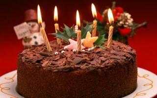 Бесплатные фото десерт, new year, holiday, торт, праздник, сладости, новый год
