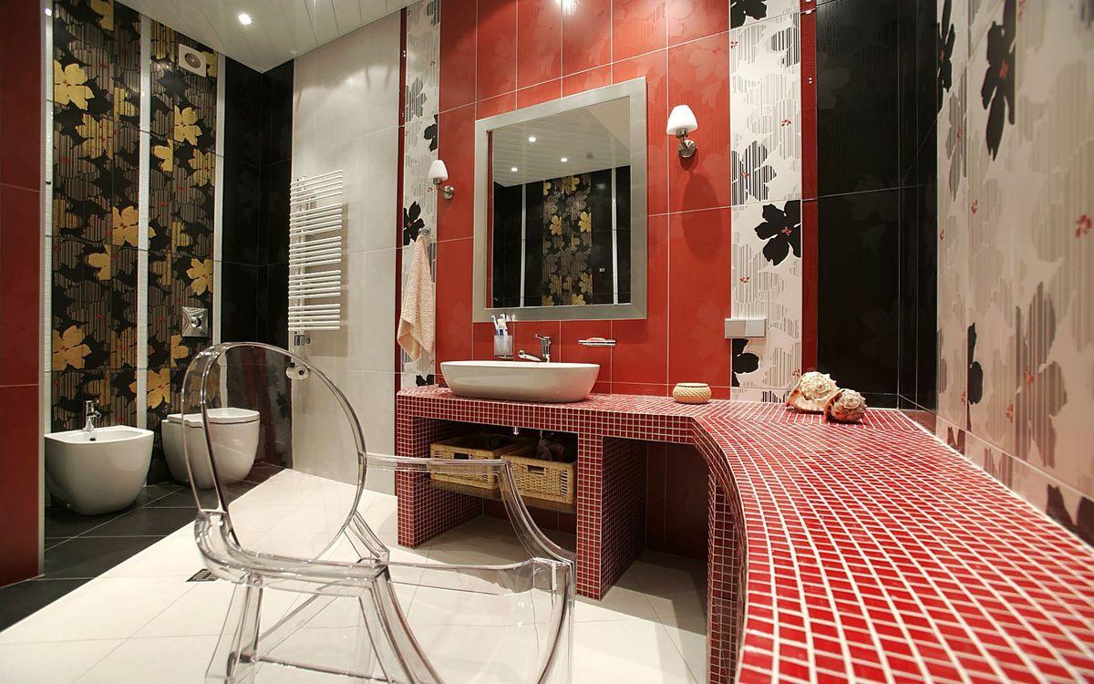 Photos for free bathroom, room, mirror - to the desktop