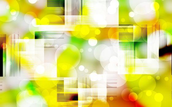 Заставки абстракция, пузырики, линии