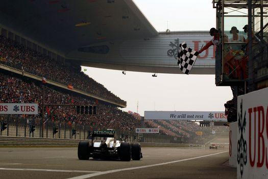 Фото бесплатно гонка, трасса, машина