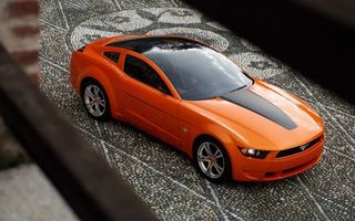 Заставки автомобиль, колеса, диски, шины, цвет, оранжевый, капот, крыша, фары, зеркала, машины