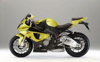 Бесплатные фото bmw,жёлтый,вид,мотоциклы
