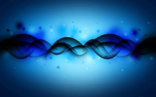 Фото бесплатно абстракция, волны, синий фон