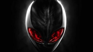 Photo free extraterrestrial, red, eyes
