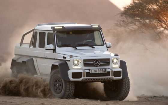 Photo free Mercedes, geldwagen, triaxial