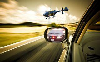 Фото бесплатно погоня, вертолет, самолет