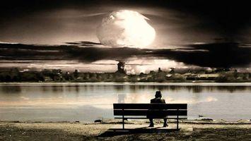 Бесплатные фото постапокалипсис,рисованные,обои,ядерный,атомный,взрыв,оружие
