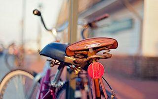 Фото бесплатно велосипед, сидушка, пружины