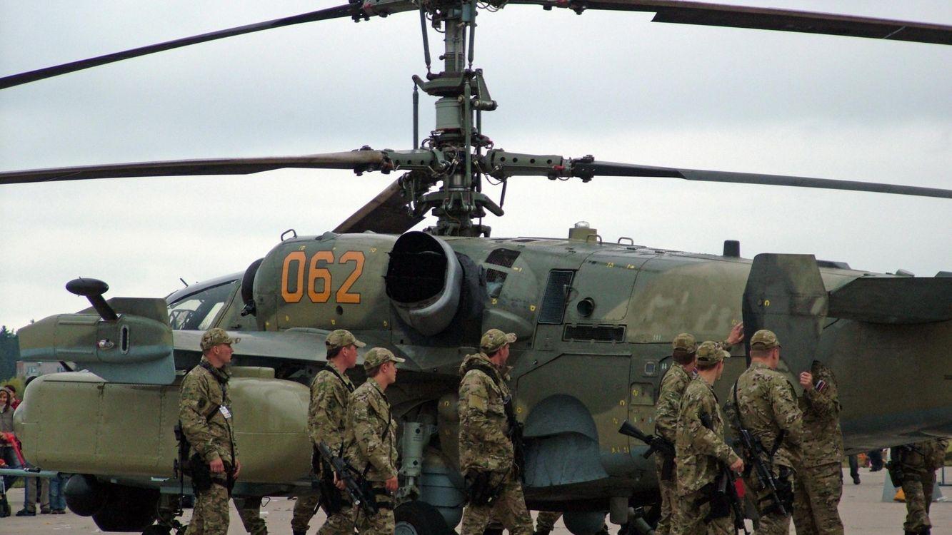 ВКС России и вертушка · бесплатное фото