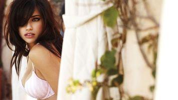 Фото бесплатно купальник, девушки, розовый