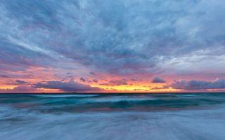 Фото бесплатно закат, желтый, небо