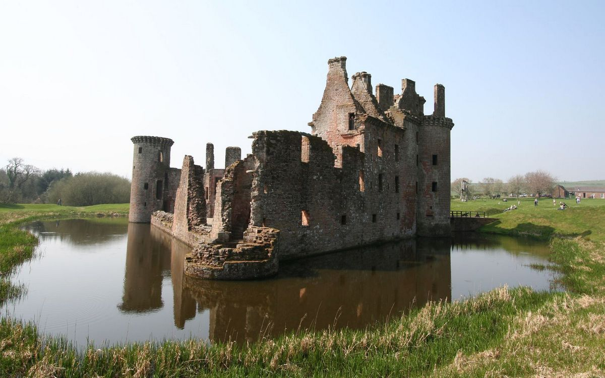 Фото бесплатно замок, здание, озеро - на рабочий стол