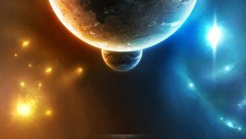 Фото бесплатно universe, бесконечность, планета