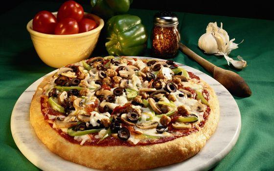 Фото бесплатно сытно, чеснок, маслины