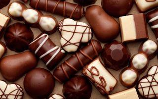 Бесплатные фото конфеты,сладости,белый,candy,шоколад,chocolate,молочный