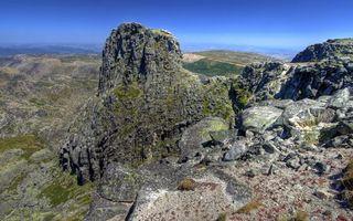 Бесплатные фото горы,скалы,камни,мох,горизонт,небо,природа
