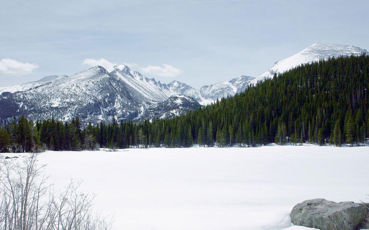 Free photo mountains, snow, height - to desktop