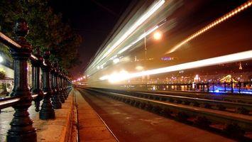 Фото бесплатно железная дорога, рельсы, шпалы