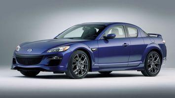 Photo free Mazda, blue, wheels