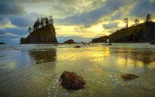 Заставки море, вода, гора