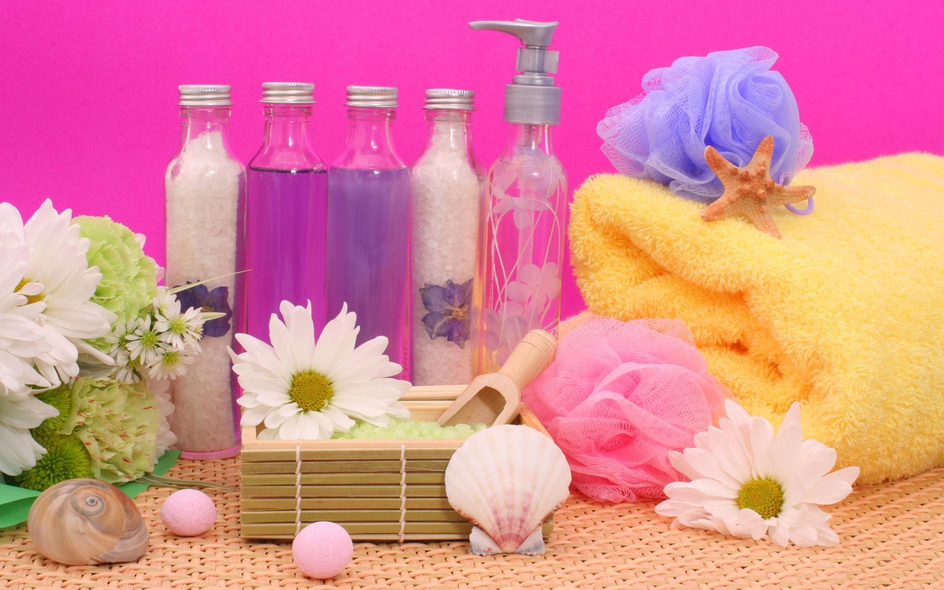 ароматический шампунь морская соль флаконы  № 1495247 бесплатно