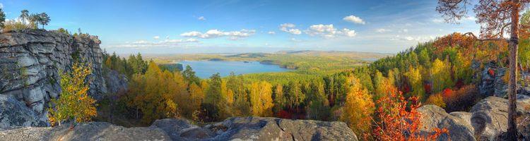 Бесплатные фото осенний день,трава,закат,солнца,гора,озеро,пейзажи