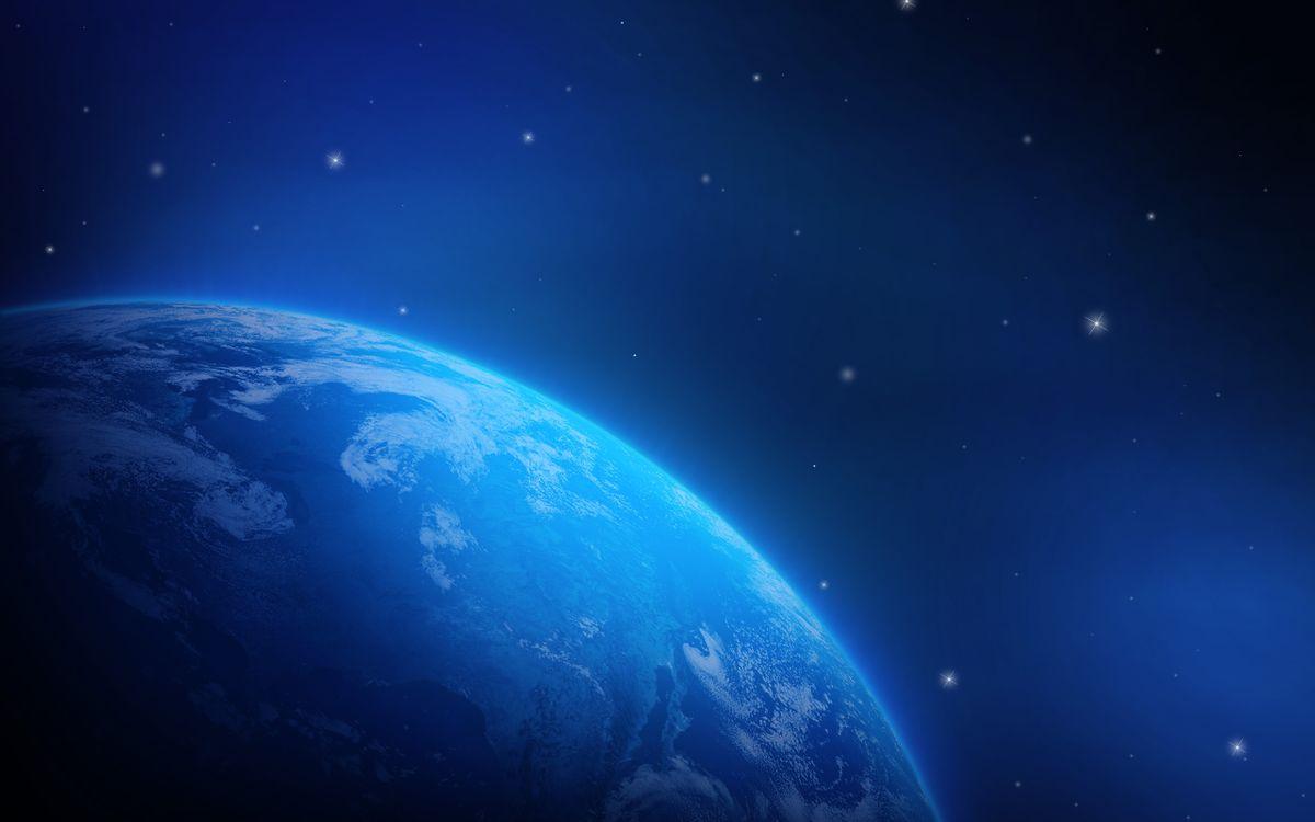 Фото бесплатно космос, Земля, звезды - на рабочий стол