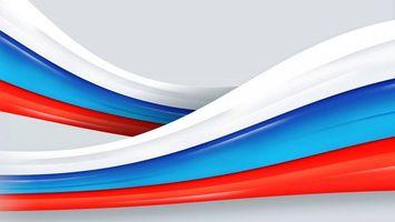 Фото бесплатно полотна, флаг России, триколор