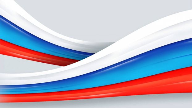 Photo free canvas, russian flag, tricolor
