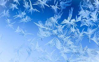 Фото бесплатно поверхность, узор, мороз, лед