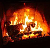 Фото бесплатно камин, огонь, пламя, дрова, угли