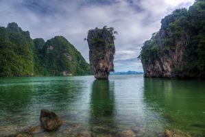 Фото бесплатно James Bond Island, Thailand, Khao Phing Kan