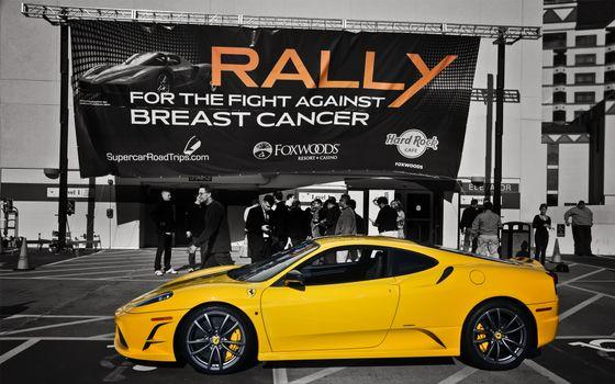 Фото бесплатно надписи, спортивный автомобиль, люди