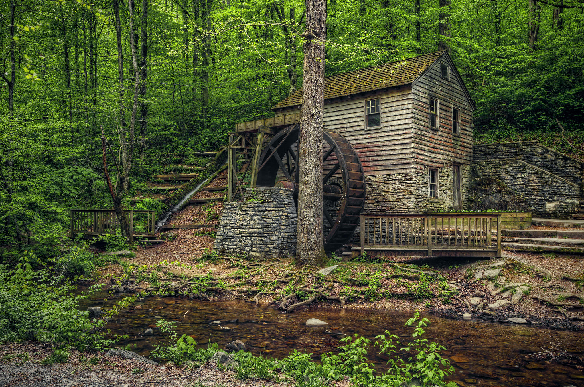 Rice Mill, Norris Dam State Park, Теннесси