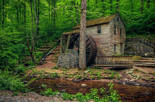 Photo free Rice Mill, Norris Dam State Park, Tennessee