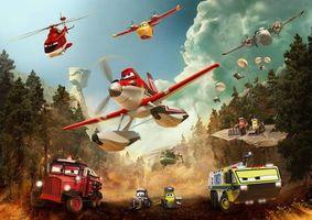 Заставки Самолеты: Огонь и вода,мультфильм,комедия,приключения,семейный