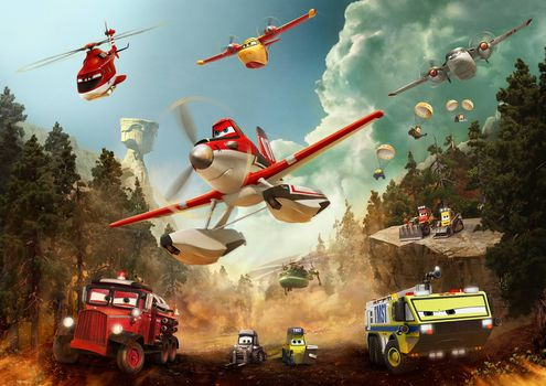 Photo free comedy, Planes: Fire and water, family