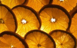 Бесплатные фото дольки лимона,фон