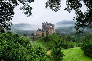 Фото бесплатно Eltz Castle, Germany, замок Эльц