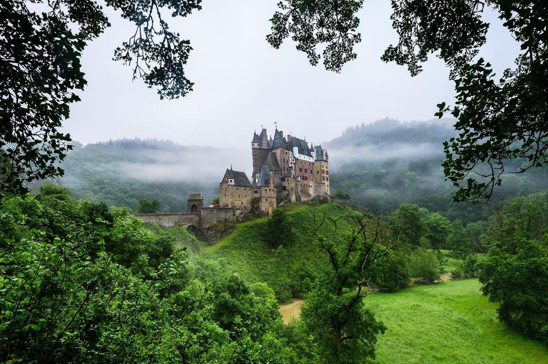 Фото бесплатно Eltz Castle, Germany, замок Эльц - на рабочий стол