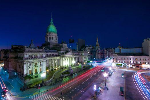 Photo free Argentina, city, lights