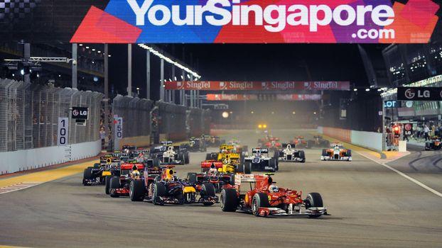 Photo free race, formula 1, cars