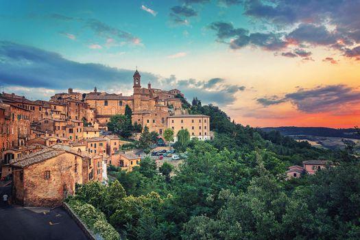 Фото бесплатно Монтепульчано, Тоскана, Италия