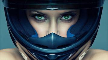 Фото бесплатно девушка, красотка, выражение лица