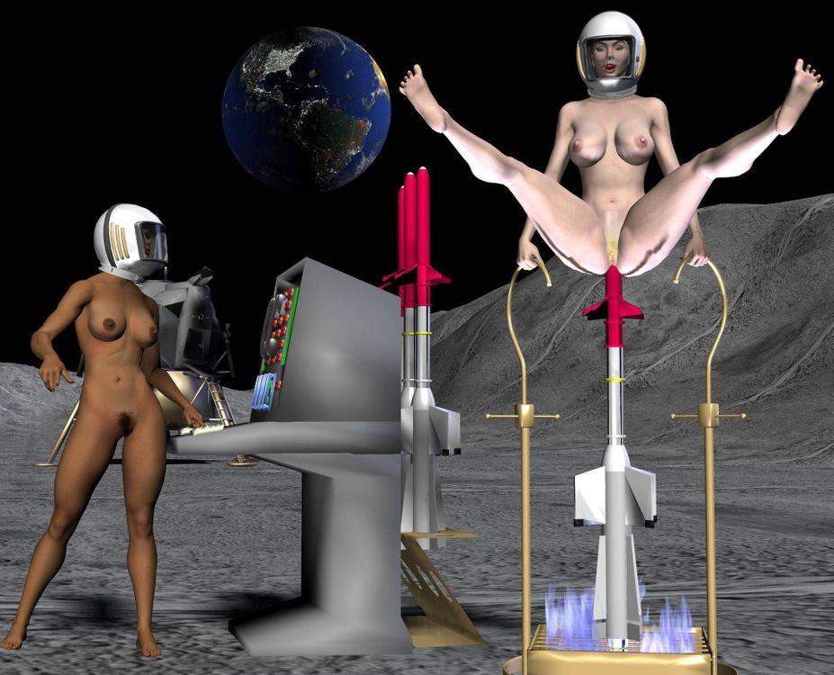Фото бесплатно фэнтези, космос, голые, рисунок - на рабочий стол